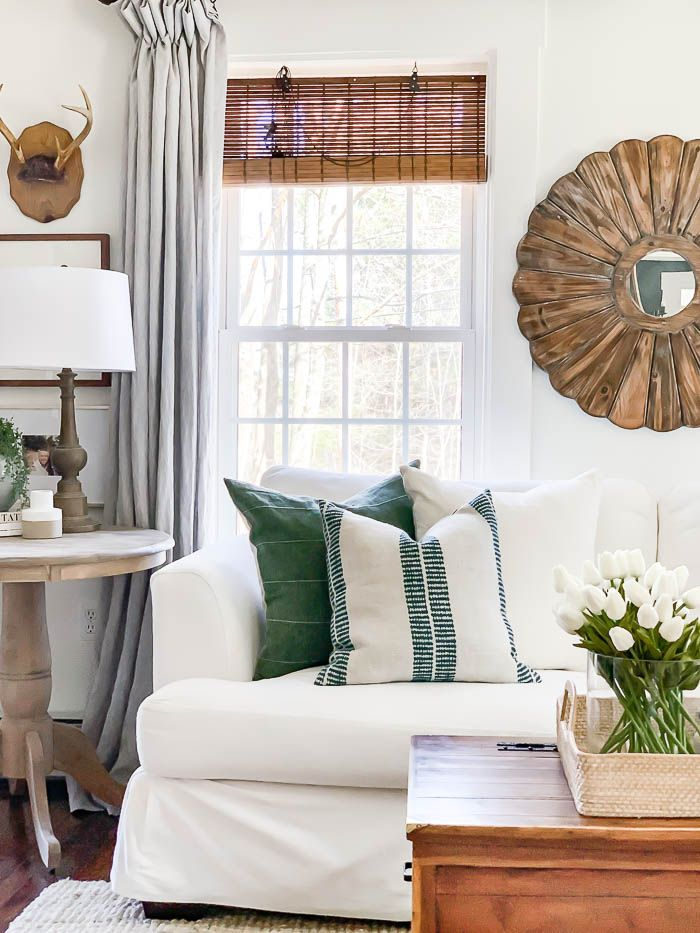 Spring Home Tour In 2020 Farm House Living Room Home Eclectic
