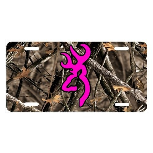 Browning Pink Camo Vehicle Accessories Universal