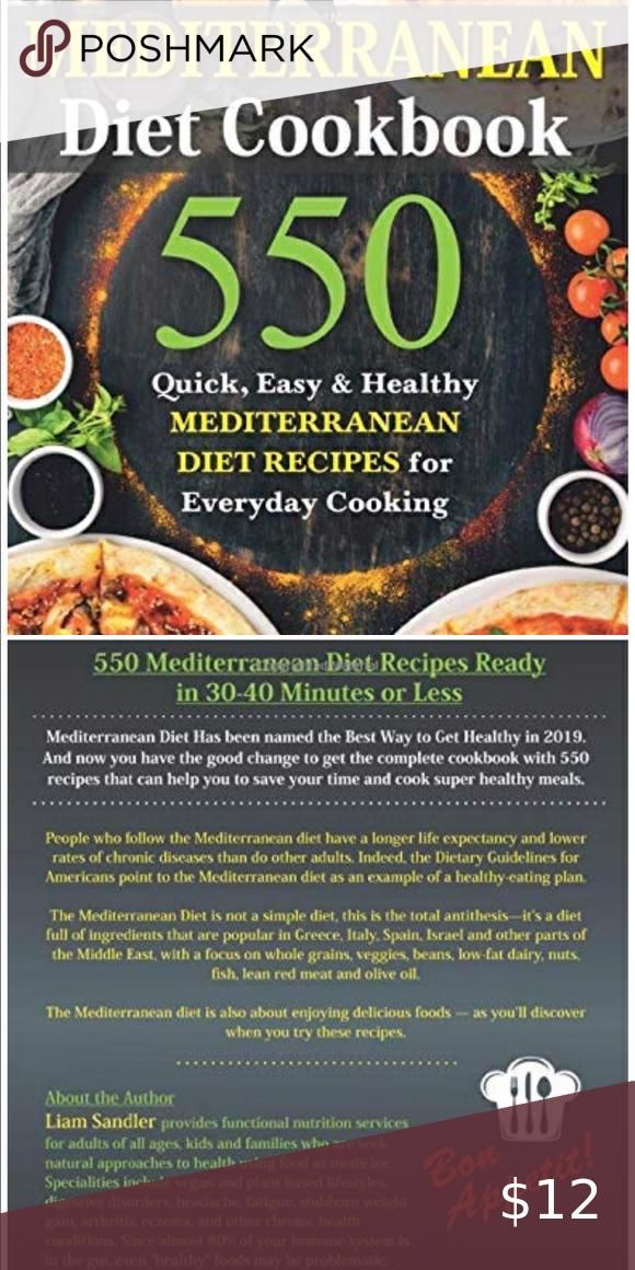 Mediterranean Diet Cookbook And Now You Have The Good Change To Get The Complete Cook In 2020 Mediterranean Diet Cookbook Mediterranean Diet Mediterranean Diet Recipes