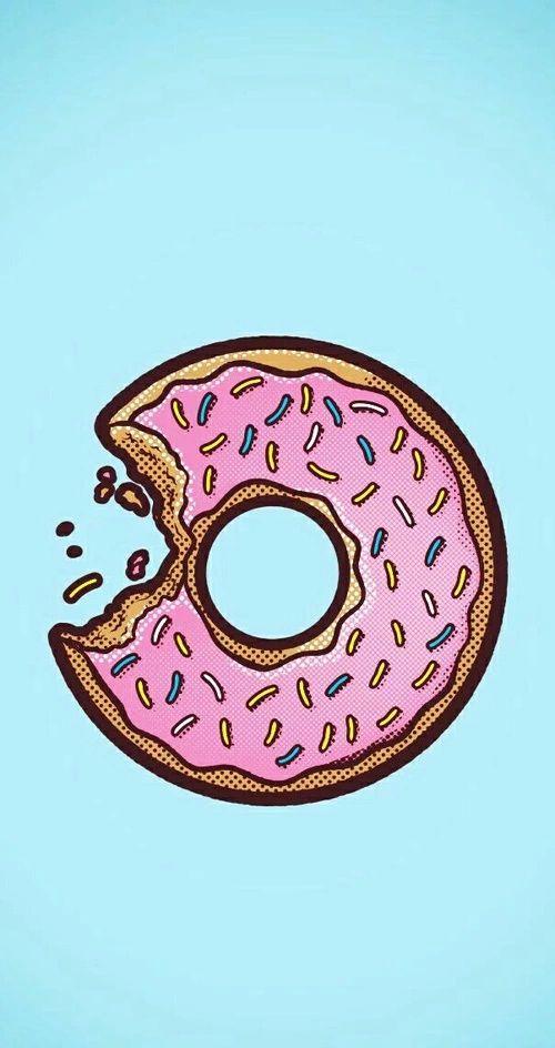 Best 25+ Donut background ideas on Pinterest | Iphone wallpaper ...