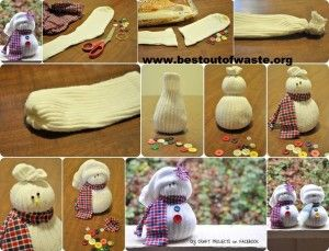 Best Out Of Waste | Best Out Of Waste Xmas Ideas | http://bestoutofwaste.org