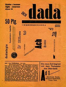 """Snippets from an article in """"Weimar: Art and Modernity in Central Europe"""""""