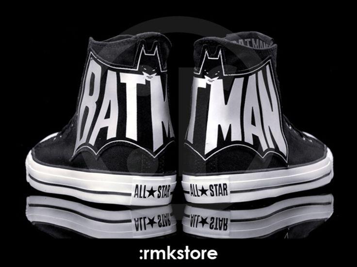 Batman sneakers... Alex.. nuff said