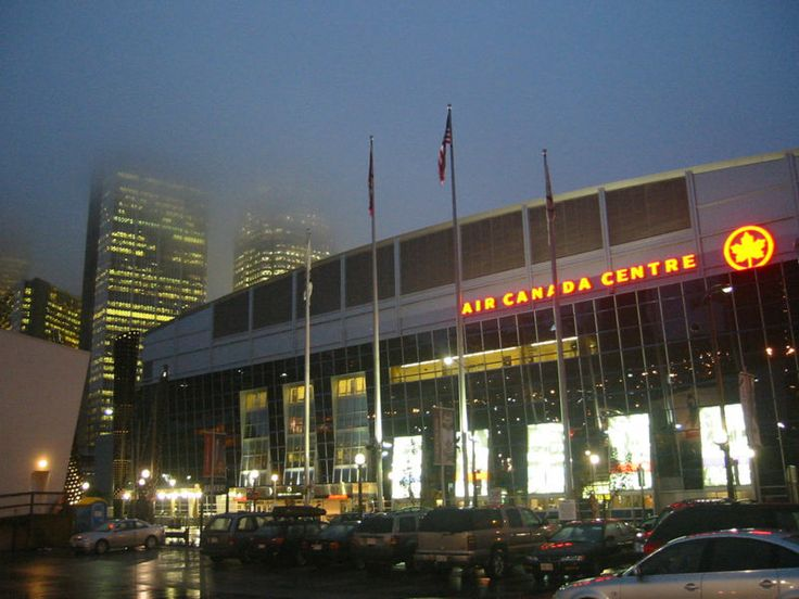 Air Canada Centre - Toronto - Home of the Maple Leafs and Raptors.  Another neat arena.  Never saw a game there but did get to see the inside.