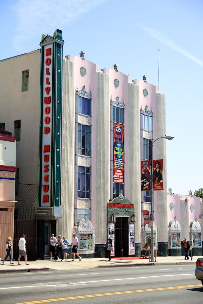 Hollywood Museum.  Los Angeles 70
