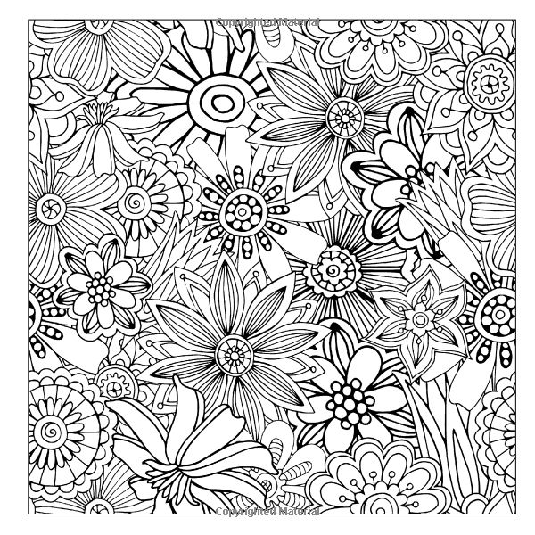 easy intricate design coloring pages - photo#17
