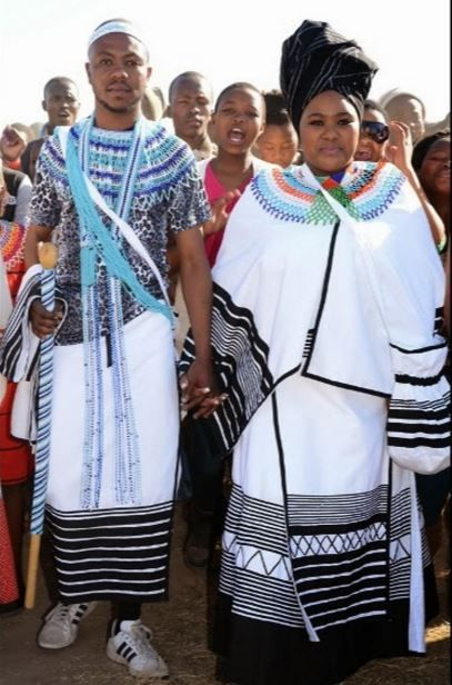 My people...Xhosa tradition wear