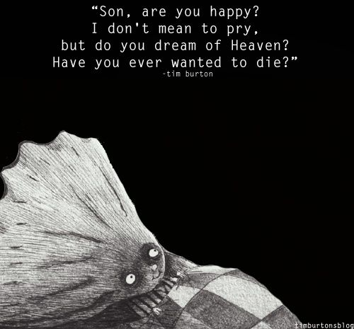from 'The Melancholy Death of Oyster Boy and other stories' by Tim Burton