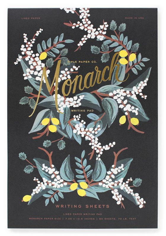 Floral #illustrations and #stationery by Anna Bond
