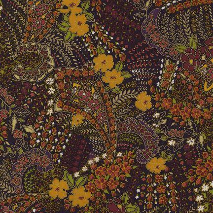Robert Kaufman Fabrics: EDJM-6501-163 SPICE from Bohemian Rhapsody