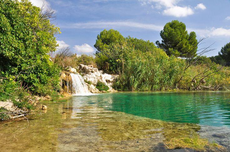 Parque Natural de las Lagunas de Ruidera en Ciudad Real