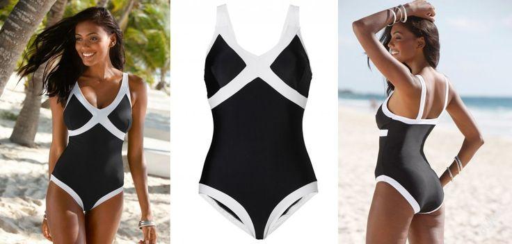 NOVÉ  ,,ORIGINÁLNÍ jednodílné plavky vel.44 :: AVENTE  ...móda s nápadem