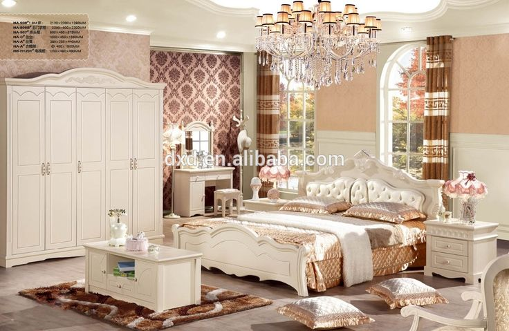 hotel bedroom sets antique wooden white bed leather bed luxury bedroom set
