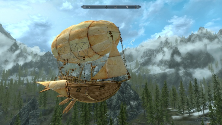 Airship - Dev Aveza at Skyrim Nexus - Skyrim mods and community