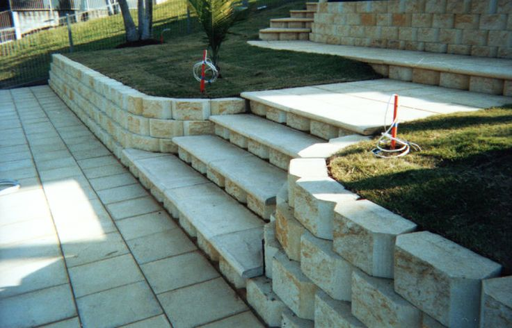 how to build techo bloc stairs