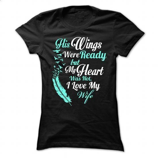 I love my wife - #teestars #funny tshirts. SIMILAR ITEMS => https://www.sunfrog.com/Funny/I-love-my-wife-92432181-Ladies.html?60505
