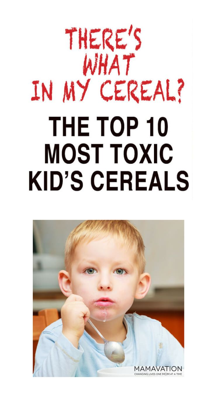 Get a FREE eBook! The Mamavation Guide to Raising Healthy Families. This 45-page guide will empower you with everything you need to take better care of your family. Also, learn about the top 10 toxic kid's cereals to avoid at all costs.  #natural #organic
