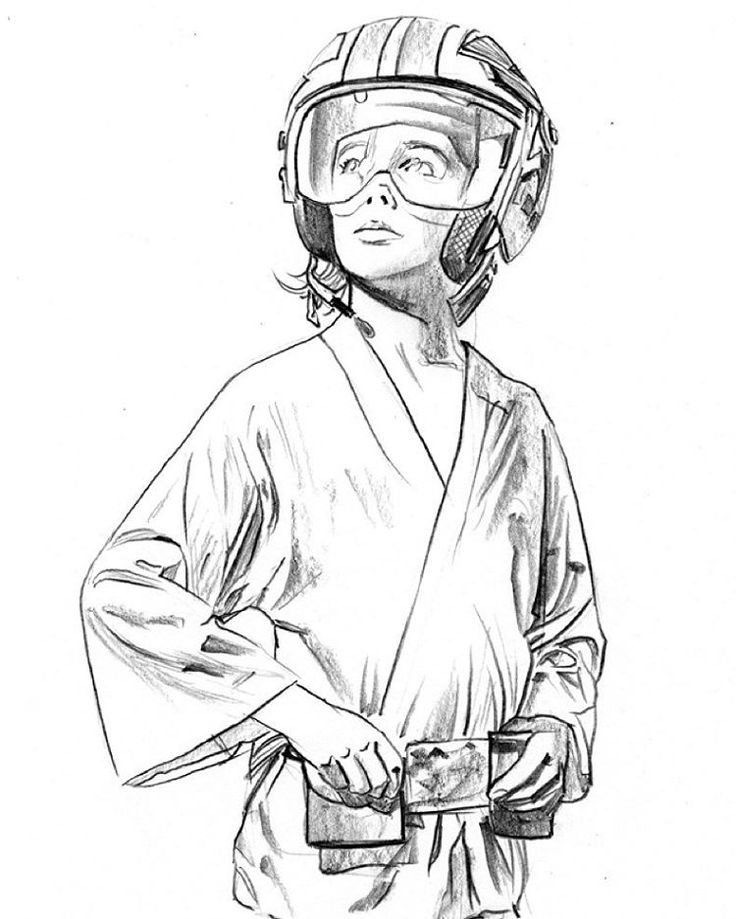 Luke Skywalker By Mike Mayhew Star Wars Star Wars Jedi