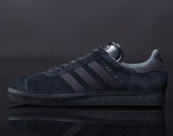 Adidas Originals Black Pack – Gazelle + AR 2.0Adidas Black, Originals Black, Black Pack, Adidas Gazell, Originals 2012, Black Shoes, Men Footwear, Adidas Originals, Gazelle Black
