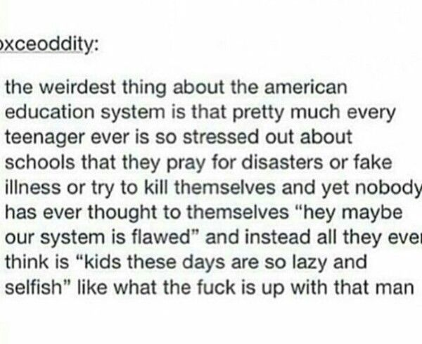 Literally. What is wrong with our education system!?