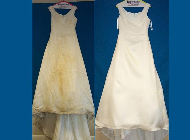 Recognized Excellence In Dry Cleaning Services With Delivery Top Quality Specialised Wedding Dresses Whites