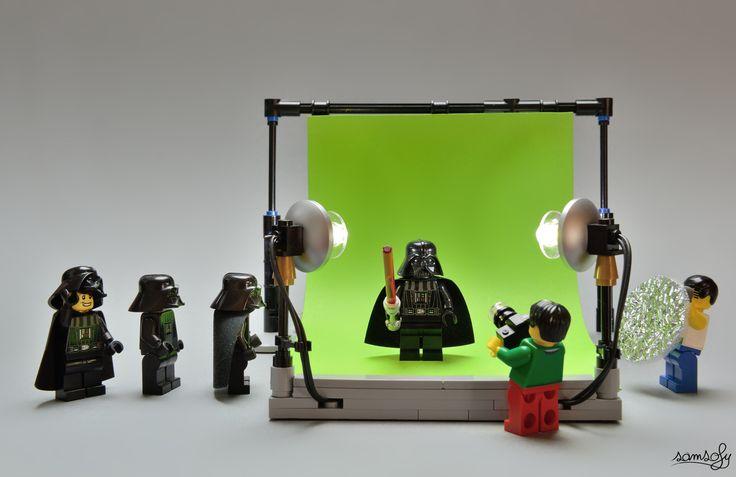 Cena com bonequinho de Lego feita pelo fotógrafo Sam Sofy - Foto: Sam Sofy