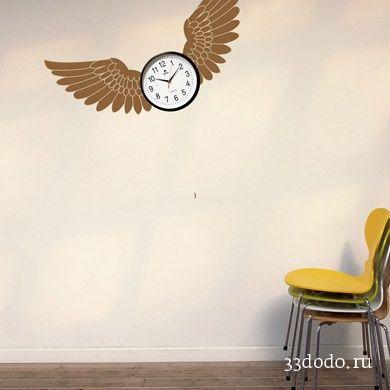 """виниловая наклейка на стену """"Крылья"""""""