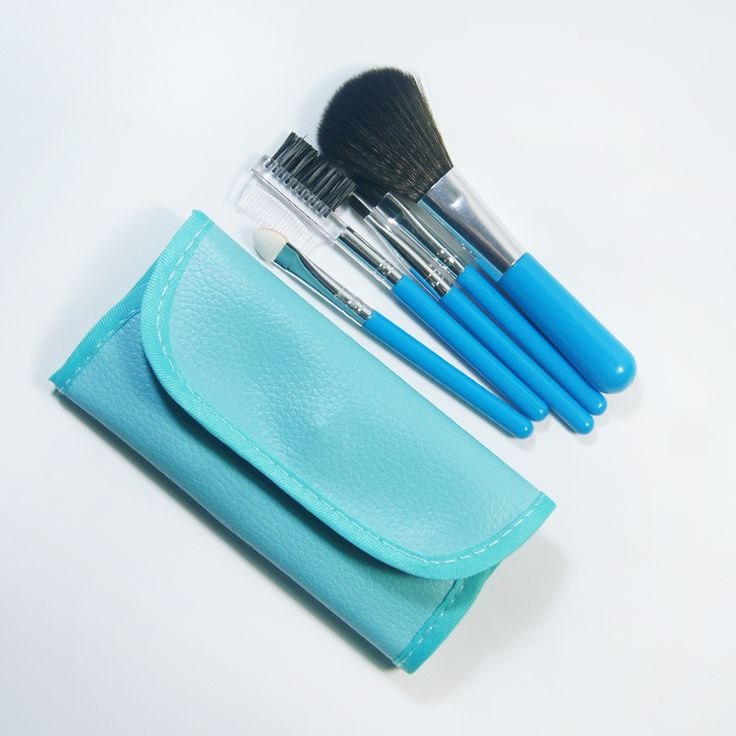 5 Pcs Professional Makeup Brushes Set Beauty Cosmetic Eyeshadow Powder Pinceis Styling Tools Make up Brush Kit With Bag