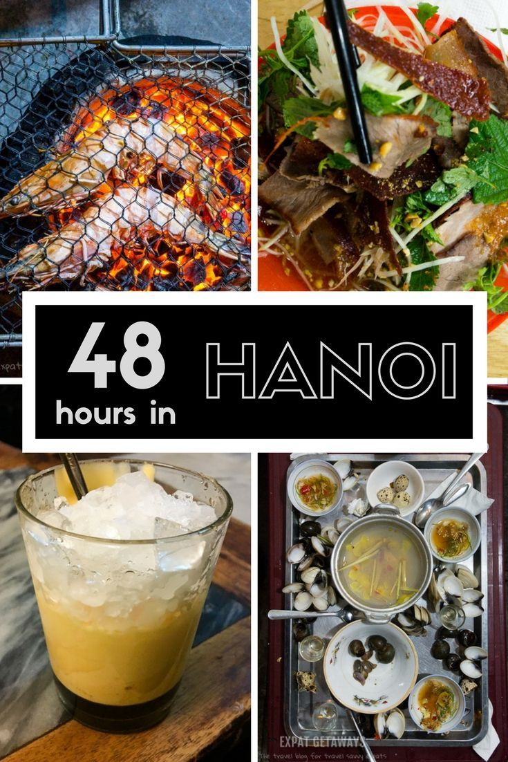 An easy to follow 2 day itinerary for your next layover in Hanoi, Vietnam. Full of travel tips and recommendations. Hanoi is a city full of fantastic street food just waiting for you to explore.
