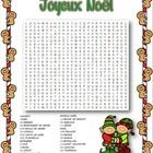 Students will have fun while reviewing French Christmas vocabulary with this word search.  Colour, Black-line and Answers included...