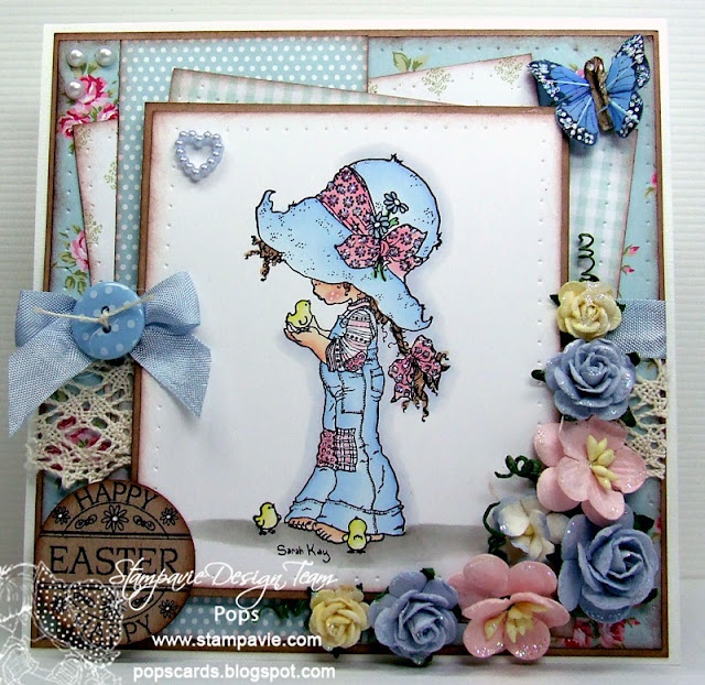 87 best images about Cards Sarah Kay Stamps – Easter Stamps Card Making
