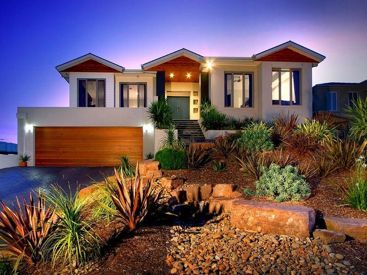 144 best houses upward slope design images on pinterest for Sloping block home designs nsw