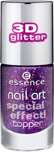 nail art smalto unghie top coat ad effetti speciali 17 only purple matters - essence cosmetics