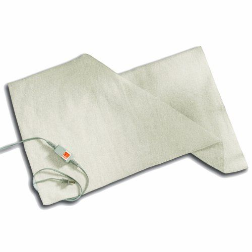 "Standard BedWarmer Heating Blanket 18"" x 36"" by Unknown. $69.95. Single temperature heating blanket has a steady temperature through the night. Simple On/Off switch with lighted toggle makes it easy to see when unit is On or Off. No more wearing heavy socks to bed! The perfect solution for people with poor circulation or cold feet!  18"" X 36"" size works two ways - 1. Perfect fit for one side of the bed, when one of you wants more heat than the other. 2. Lay acros..."