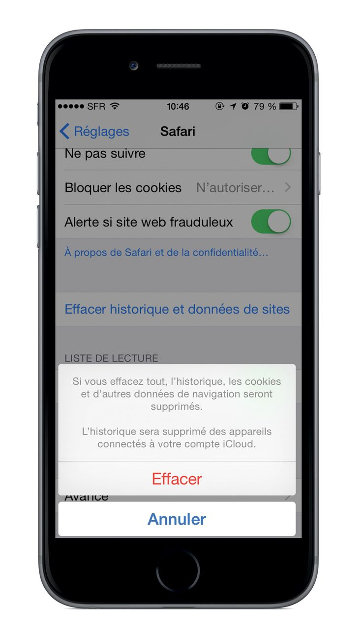 detecter espion iphone