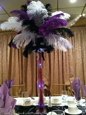 17 Best Images About Feathers Centerpieces On Pinterest