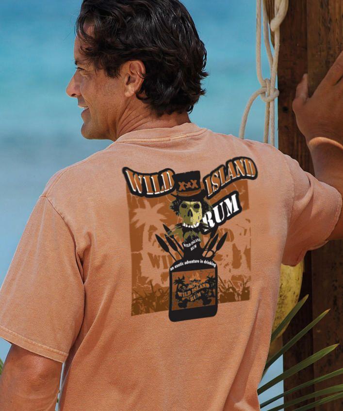 Wild Island - Rum-Dyed Crew Neck T-Shirt