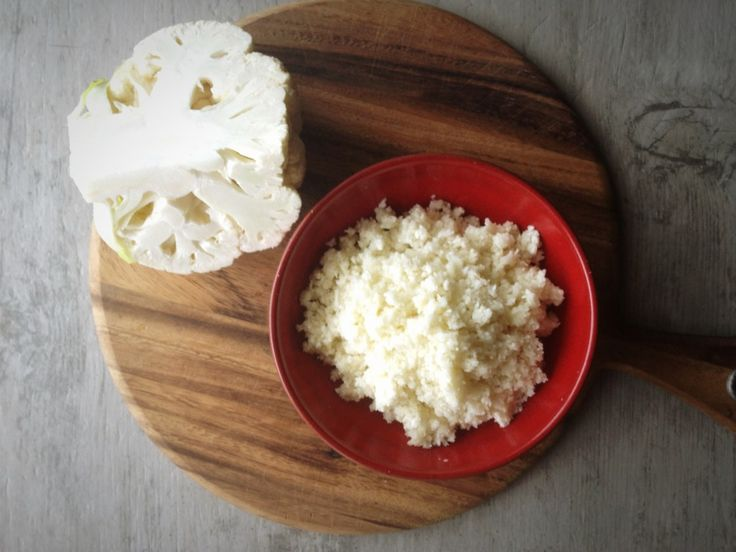 Seven delicious things you can make with cauliflower 'rice', including pizza! Making eating well so easy.