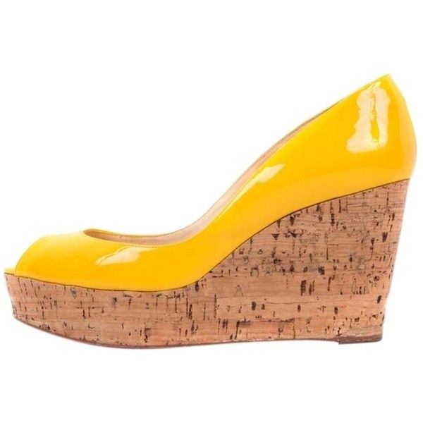 1000  ideas about Yellow Wedges on Pinterest | Cute shoes, Flats ...