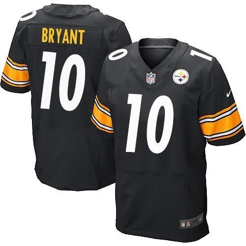 Martavis Bryant # 10 Pittsburgh Steelers Men's Stitched NFL Nike Elite Jersey(Black)