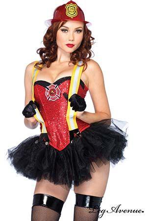 Costume Pompière Hot Leg Avenue #legavenue #costumes #déguisement #halloween