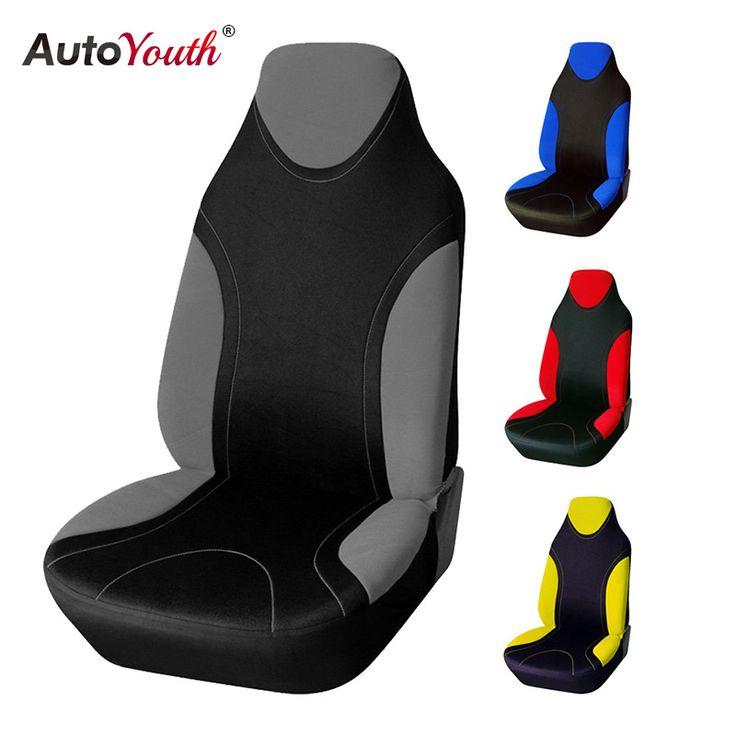 Autoyouth sport stijl hoge terug emmer auto bekleding universele past meest autohoezen interieur accessoires stoelhoezen 4 colours
