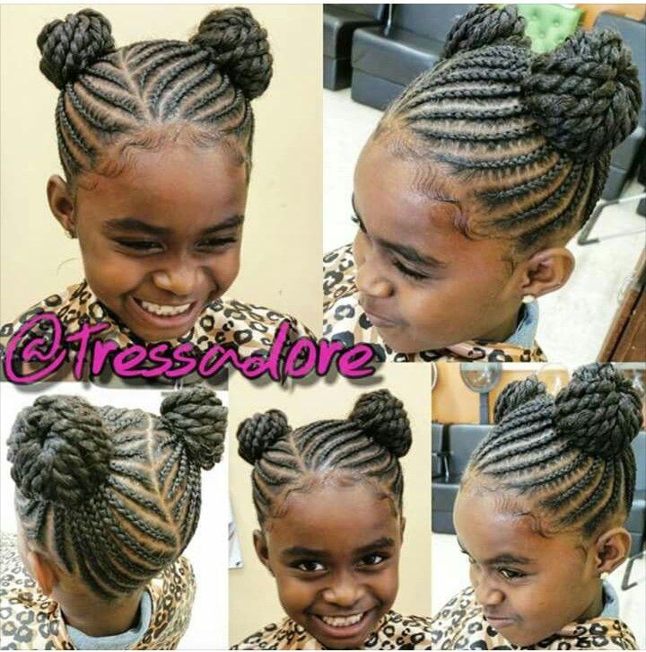 Hairstyles For Kids Girls Impressive 1639 Best Little Black Girls Hair Images On Pinterest  Braid Hair