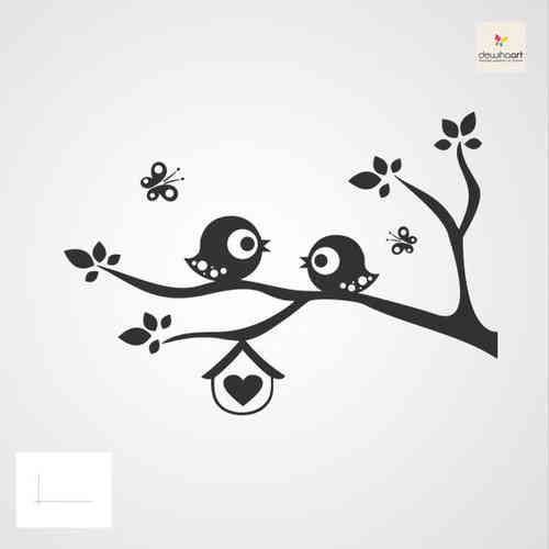 Vogels op tak 4