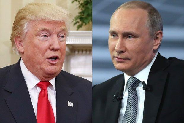 Donald Tramp,Vladimir Putin foto Tanjug/Ap