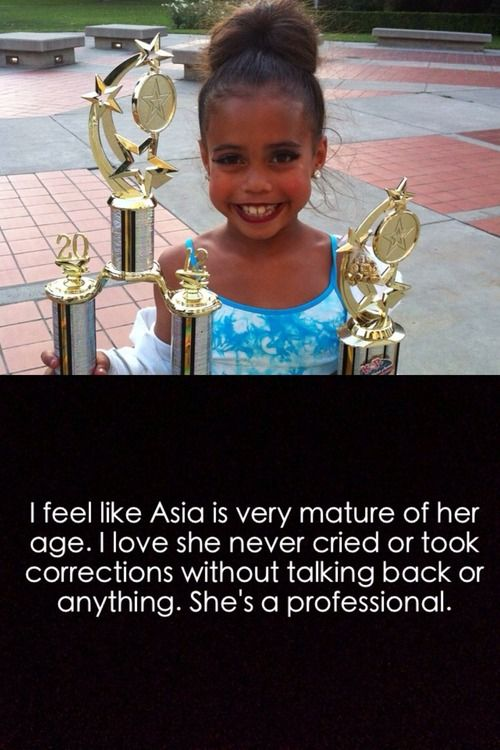 True no one really does either but she was very strong