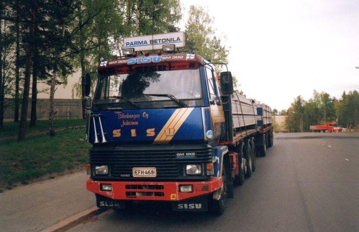 Truck Sisu E.Sileekangas Jokioinen Finland..