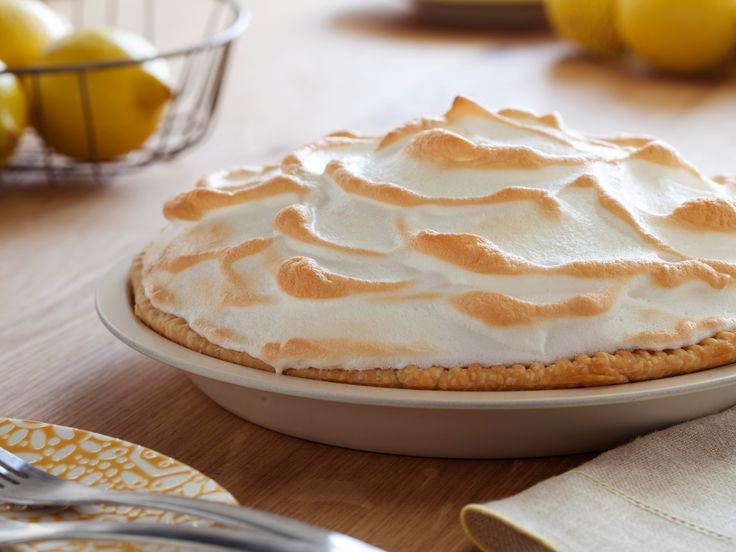 Lemon Meringue Pie - - Easter Dinner. Don't forget to bring filling to a boil AGAIN after adding lemon juice OR the filling won't gel!  (substituted soy margarine for butter)