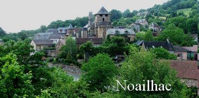 Le village de Noailhac