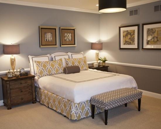 Liczba najlepszych obrazów na temat tablicy Two tone bedroom ideas ...